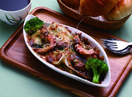 威尼斯海鮮千層麵