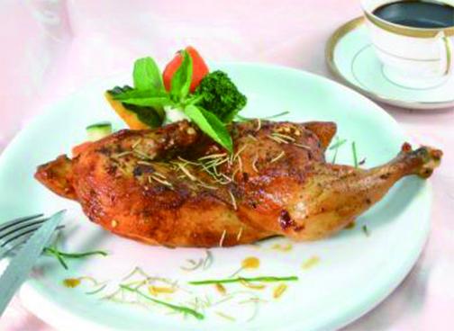 愛琴海烤半雞